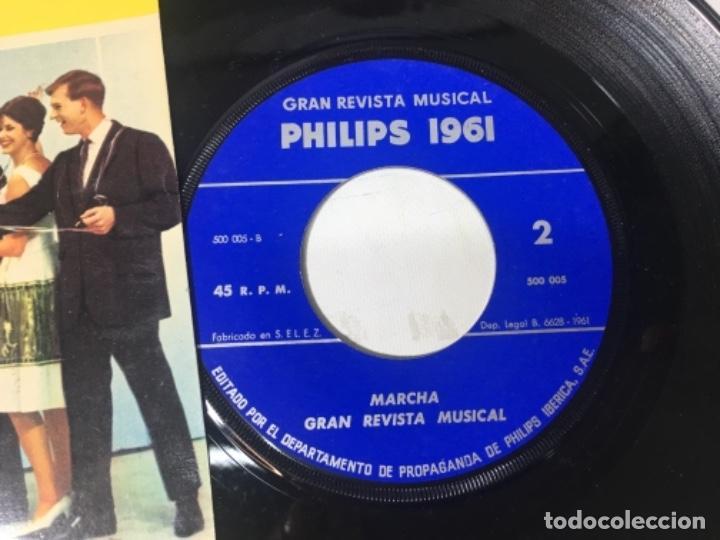 Discos de vinilo: Antiguo single ep original años 50/60 raro publicidad Gala Philips 1962 - Foto 2 - 161234630