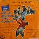 Discos de vinilo: BILL HALEY AND HIS COMETS. ROCKBOUND THE CLOCK. EP ESPAÑA ORIGINAL AÑOS 50. Lote 161234642