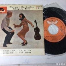 Discos de vinilo: ANTIGUO SINGLE EP ORIGINAL AÑOS 50/60 HELMUT ZACHARIAS TWIST. Lote 161235114