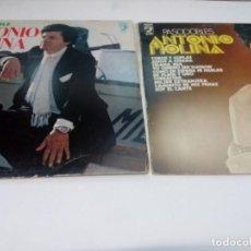 Discos de vinilo: 2 LP ANTONIO MOLINA: PASOBLES ANTONIO MOLINA / EL INIMITABLE ANTONIO MOLINA. Lote 161251282