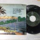 Discos de vinilo: ANTIGUO SINGLE EP ORIGINAL AÑOS 50/60. III FESTIVAL DE LA CANCIÓN ESPAÑOLA BENIDORM FERNANDO BELL. Lote 161253862