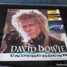 Vinyl-Schallplatten - DAVID BOWIE. UNDERGROUND. EXTENDED DANCE MIX (MAXI SINGLE) 1986, SPAIN - 161257818