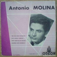 Discos de vinilo: ANTONIO MOLINA / IMPRESO EN FRANCIA. Lote 161260166