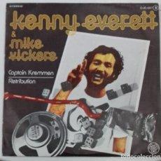 Discos de vinilo - KENNY EVERETT & MIKE VICKERS - CAPTAIN KREMMEN SG ED ESPAÑOLA 1978 - 161261290