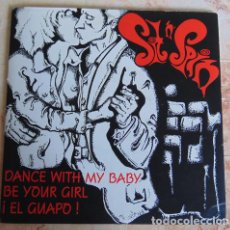 Discos de vinilo: SIT N' SPIN – DANCE WITH MY BABY / BE YOUR GIRL / ¡EL GUAPO! - EP VINILO COLOR. Lote 161262018