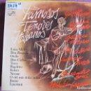 Discos de vinilo: LP - FAMOSOS TENORES ITALIANOS - VARIOS (SPAIN, ZAFIRO 1977). Lote 161272362