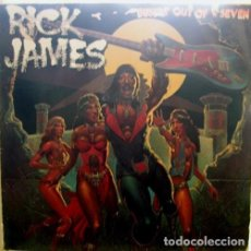 Discos de vinilo: RICK JAMES – BUSTIN' OUT OF L SEVEN / MOTOWN / ALEMANIA. Lote 161274242