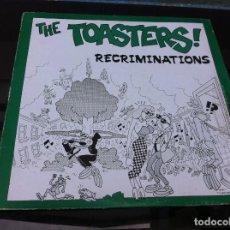 Vinyl-Schallplatten - THE TOASTERS. RECRIMINATIONS (MAXI SINGLE) 1988, ENGLAND - 161274262