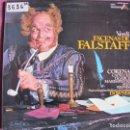 Discos de vinilo: LP - VERDI - ESCENAS DE FALSTAFF (SINFONICA DE LONDRES, DR. DOWNES) (SPAIN, ACE OF DIAMONDS 1976). Lote 161275662