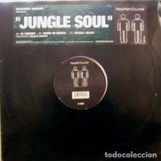 Discos de vinilo: MEGAMEN SOUNDS / JUNGLE SOUL / WAAKO RECORDS / US / 2002. Lote 161279634