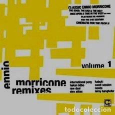 Discos de vinilo: ENNIO MORRICONE / REMIXES VOLUME 1 / COMPOST RECORDS / 3 LPS / 2003. Lote 161277122