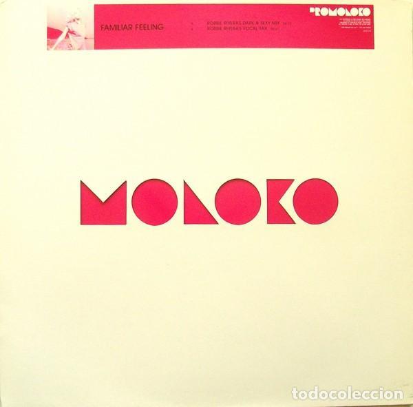 Discos de vinilo: Moloko – Familiar Feeling / Echo- UK / 2002 - Foto 2 - 161284658
