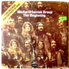 Discos de vinilo: MICHAEL URBANIAK GROUP.THE BEGUINING...DOBLE LP...MUY RARO...EX. Lote 161292370