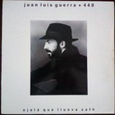Discos de vinilo: JUAN LUIS GUERRA ? 440... OJALÁ QUE LLUEVA CAFÉ.(KAREN RECORDS 1990.) SPAIN.. Lote 237041365