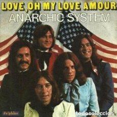 Discos de vinilo: W14 - ANARCHIC SYSTEM. LOVE, OH MY LOVE AMOUR / SEE ME, HEAR ME SINGLE VINILO. FRANCIA. Lote 161294318