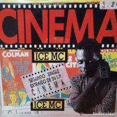 Discos de vinilo: SINGLE / ICE MC / CINEMA / 1990 PROMO. Lote 161298230