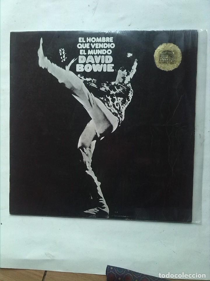 DAVID BOWIE EL HOMBRE QUE VENDIO EL MUNDO (Música - Discos - LP Vinilo - Pop - Rock - Internacional de los 70)
