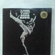 Discos de vinilo: DAVID BOWIE EL HOMBRE QUE VENDIO EL MUNDO. Lote 161304098