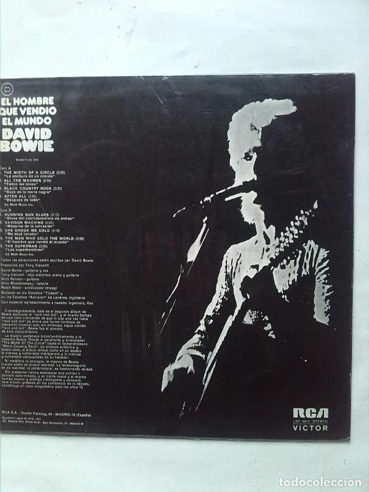 Discos de vinilo: DAVID BOWIE EL HOMBRE QUE VENDIO EL MUNDO - Foto 3 - 161304098
