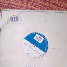 Discos de vinilo: DOBLE COPIA ÚNICOS PENTAGRAMA DE PARÍS. Lote 161312030