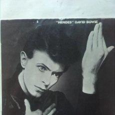 Discos de vinilo: DAVID BOWIE HEROES. Lote 161321262