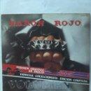 Discos de vinilo: BARON ROJO VERSION ORIGINAL EN INGLÉS ESPECIAL COLECCIONISTA EDICION LIMITADA. Lote 161322878