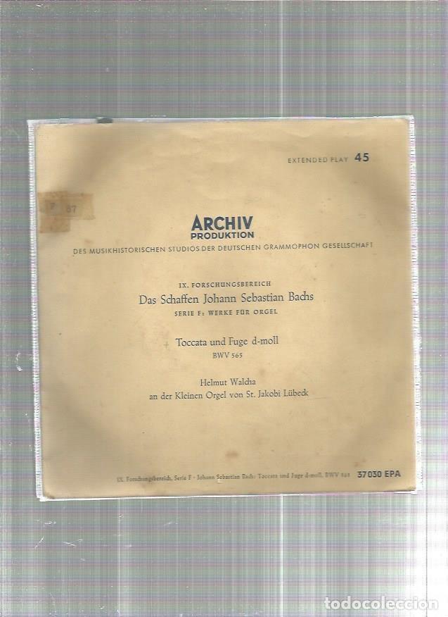 ARCHIV PRODUKTION BACHS (Música - Discos - Singles Vinilo - Otros estilos)