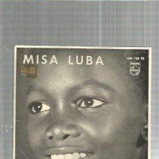 Disques de vinyle: MISA LUBA. Lote 177263472