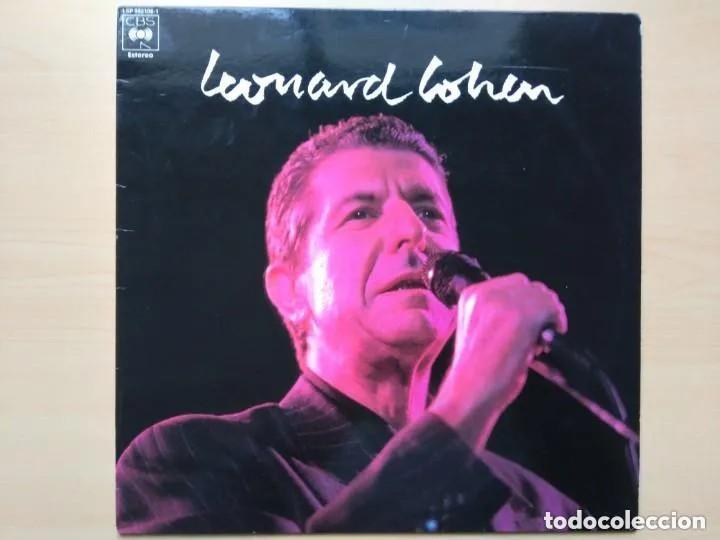 LEONARD COHEN - LEONARD COHEN (LP) 1989 PROMO !!!!! (Música - Discos - LP Vinilo - Cantautores Extranjeros)