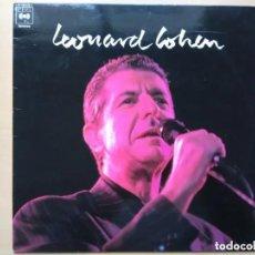 Discos de vinilo: LEONARD COHEN - LEONARD COHEN (LP) 1989 PROMO !!!!!. Lote 161335070