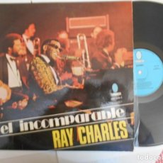 Discos de vinilo: RAY CHARLES-LP EL INCOMPARABLE RAY CHARLES-1974-ESPAÑOL. Lote 161335846