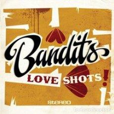 Discos de vinilo: BANDITS LOVE SHOTS! LP . JAMAICA SKA REGGAE ROCKSTEADY STRANGER COLE PATSY TOD. Lote 161338174