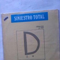 Discos de vinilo: SINIESTRO TOTAL GRANDES EXITOS JEROGLIFICO POR PEPO. Lote 161342814