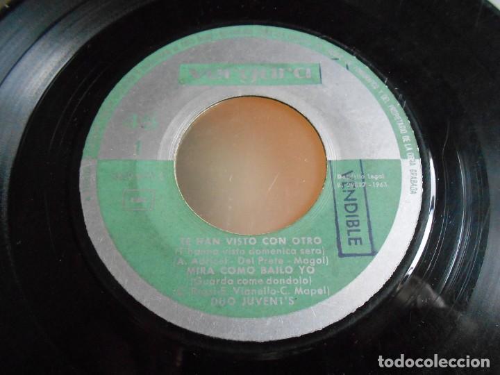 Discos de vinilo: DUO JUVENT´S, EP, CASANOVA BESAME + 3, AÑO 1963 - Foto 3 - 161350654