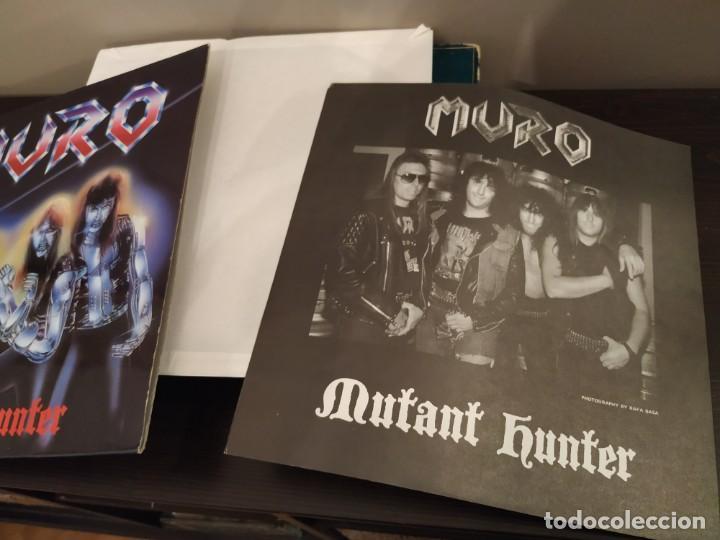 Discos de vinilo: MURO - MUTANT HUNTER + VENOM - TEMPLES OF ICE + RAVEN 2 LP LIVE - Foto 4 - 159444686