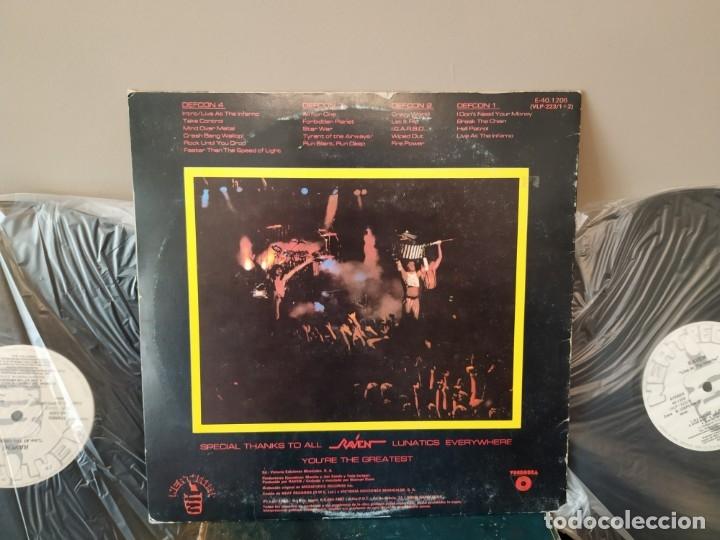 Discos de vinilo: MURO - MUTANT HUNTER + VENOM - TEMPLES OF ICE + RAVEN 2 LP LIVE - Foto 10 - 159444686
