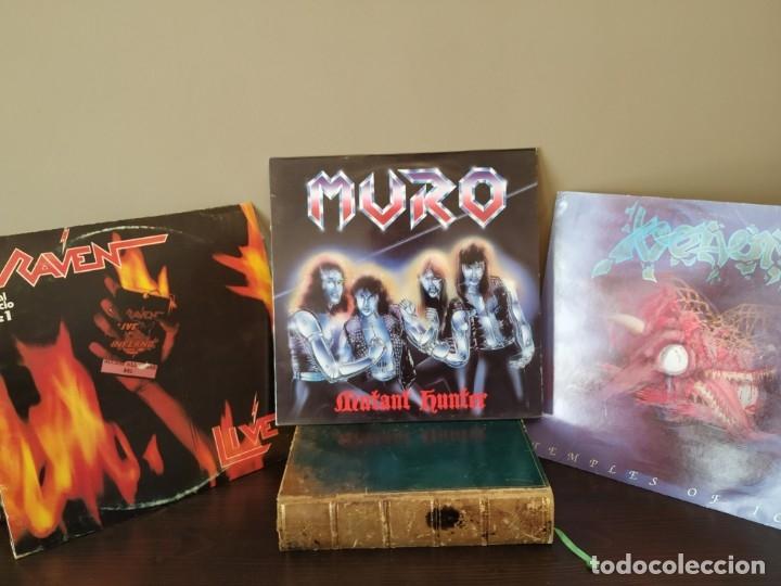 MURO - MUTANT HUNTER + VENOM - TEMPLES OF ICE + RAVEN 2 LP LIVE (Música - Discos - Singles Vinilo - Heavy - Metal)
