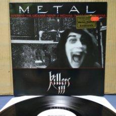 Discos de vinilo: METAL KILLERS III - HEAVY METAL HITS 1985 GER / MOTÖRHEAD , WENDY O WILLIAMS , GIRLSCHOOL , TANK. Lote 161368072