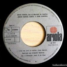 Discos de vinilo: ROCIO DURCAL - FUÉ TAN POCO TU CARIÑO / TARDE - SINGLE 1977 - ARIOLA. Lote 161383026
