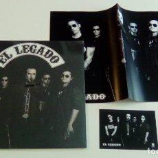 Discos de vinilo: EL LEGADO (LP + CD + POSTER + CARD 2015, GATEFOLD, EL BEASTO RECORDING EBR-LP000) PRECINTADO. Lote 161383742