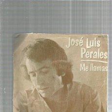 Disques de vinyle: JOSE LUIS PERALES. Lote 161384786
