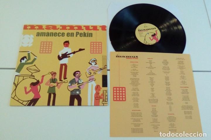Discos de vinilo: MAMUT - Amanece En Pekín (LP 2009, Subterfuge Records 21695, con encarte ) NUEVO - Foto 2 - 161390190