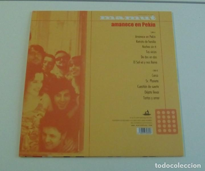 Discos de vinilo: MAMUT - Amanece En Pekín (LP 2009, Subterfuge Records 21695, con encarte ) NUEVO - Foto 3 - 161390190