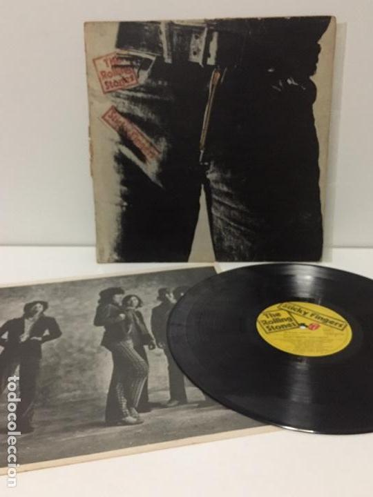The rolling stones - sticky fingers - lp 1979 - Sold through