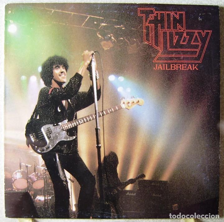 THIN LIZZY.JAILBREAK..LIVE AT THE REGAL,HITCHIN,ENGLAND..NO OFICIAL..MUY RARO...EX+ (Música - Discos - LP Vinilo - Heavy - Metal)