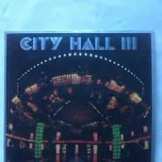 Discos de vinilo: CITY HALL III ELECTRONIC FUNK / SOUL. Lote 161432470
