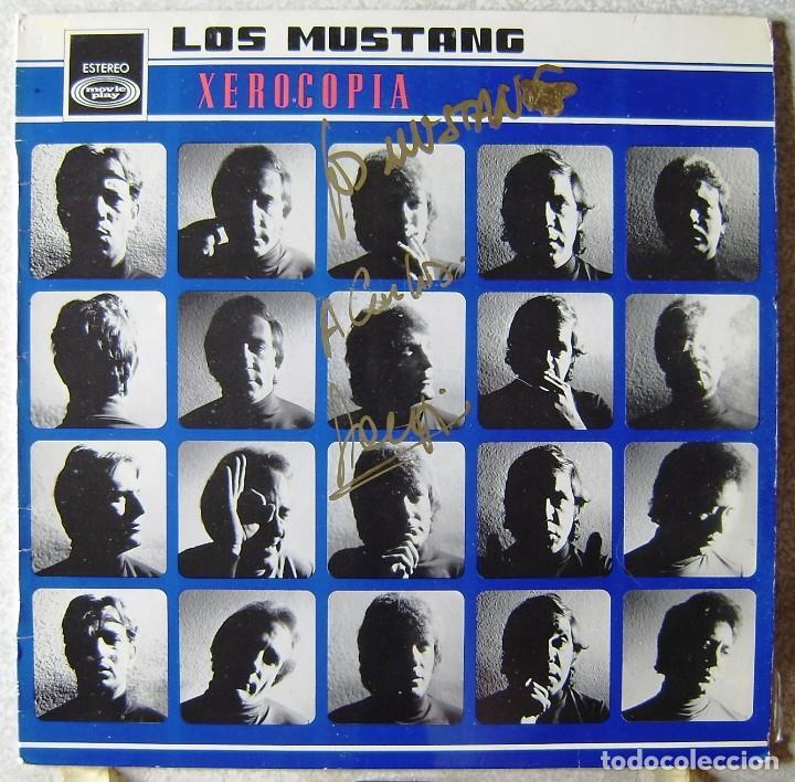 LOS MUSTANG.XEROCOPIA...VERSIONES DE BEATLES...FIRMADO EN PORTADA...EX (Música - Discos - LP Vinilo - Grupos Españoles 50 y 60)