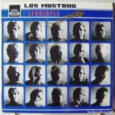 Discos de vinilo: LOS MUSTANG.XEROCOPIA...VERSIONES DE BEATLES...FIRMADO EN PORTADA...EX. Lote 161433922