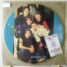 Discos de vinilo: TAKE THAT.EUROPE ´93...PICTURE DISC MUY RARO...EX. Lote 161434162