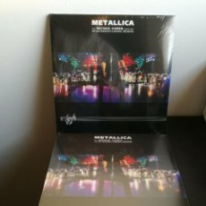 Discos de vinilo: 3-LP- METALLICA - SM -3 LP-180GR- NUEVO Y PRECINTADO. Lote 220392241